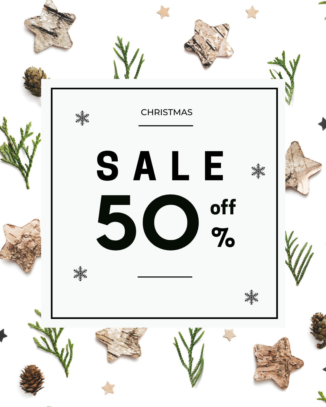 Christmas Sale Boxing Day Discount Instagram Post (1)